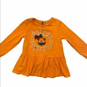 ✨3 for $30✨3T Girls Orange Halloween Tee Shirt